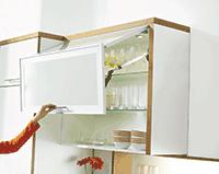 Мебельная фурнитура: подъемник Aventos HF BLUM