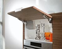 Мебельная фурнитура: Aventos HK-S Blum